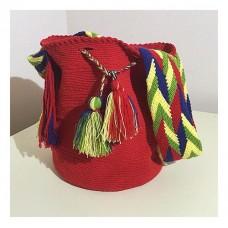 Kırmızı Heybe Çanta