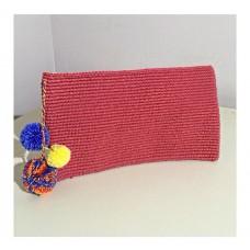 Kırmızı Clutch Çanta